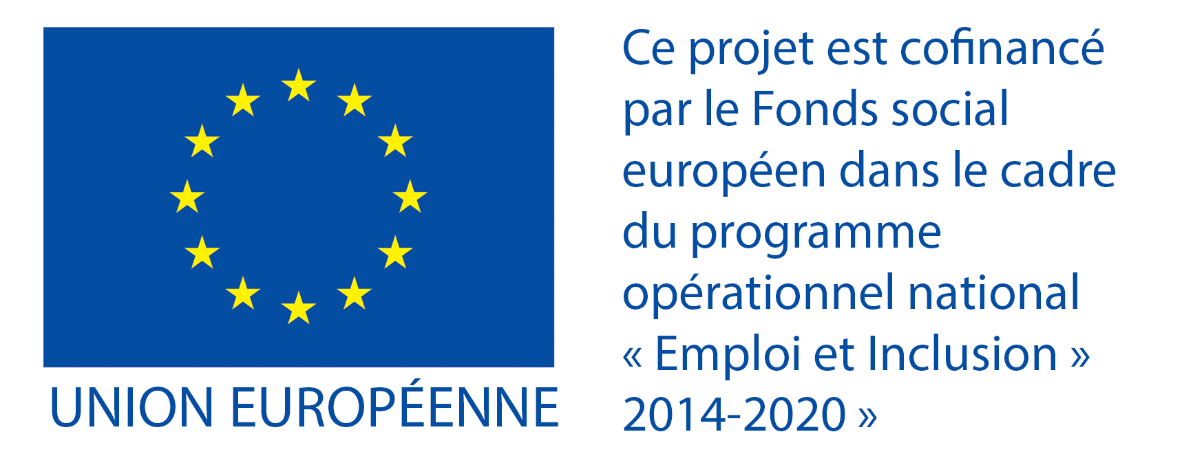 Logo du Fonds Sociale Européen de l'Union Européenne