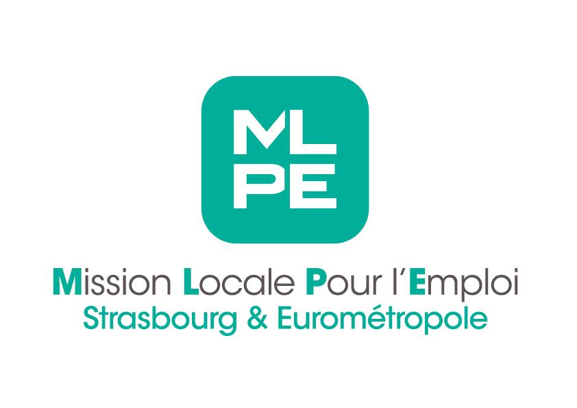 Logo de la Mission Locale Pour l'Emploi de Strasbourg et Eurométropole