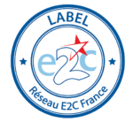 Logo du label de Réseau e2c France